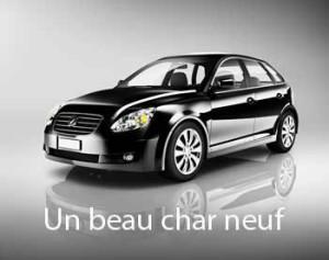 Dictionnaire québécois : un char