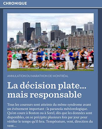 Selon le contexte, le mot plate peut vouloir dire décevant, regrettable dans la langue québécoise.
