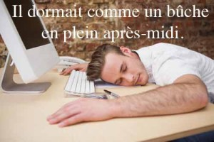 Dormir comme un bûche : dictionnaire québécois