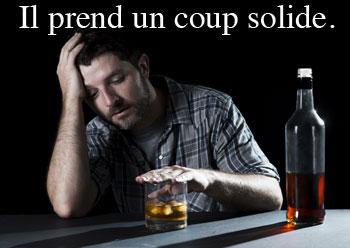 Dictionnaire québécois, expressions avec le mot coup : prendre un coup solide, tout d'un coup, coup de coeur, un coup parti