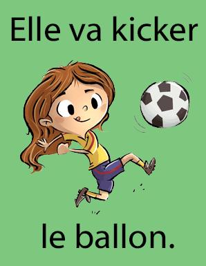 Dictionnaire québécois kicker le ballon de soocer