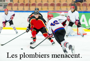 Dictionnaire québécois : les expressions du hockey : une équipe de plombiers