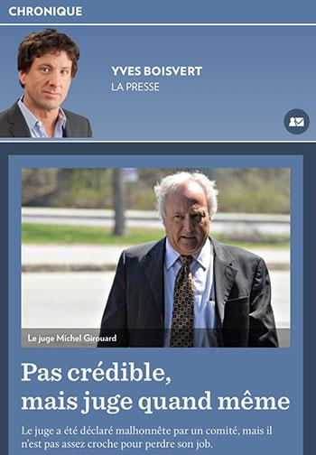 Le mot croche dans la langue québécoise