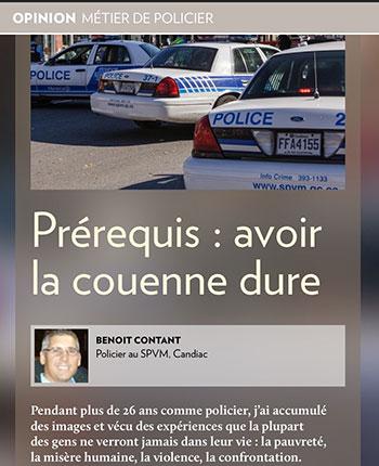 expression québécoise : avoir la couenne dure