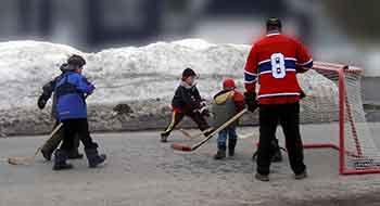 le hockey bottine : dictionnaire québécois