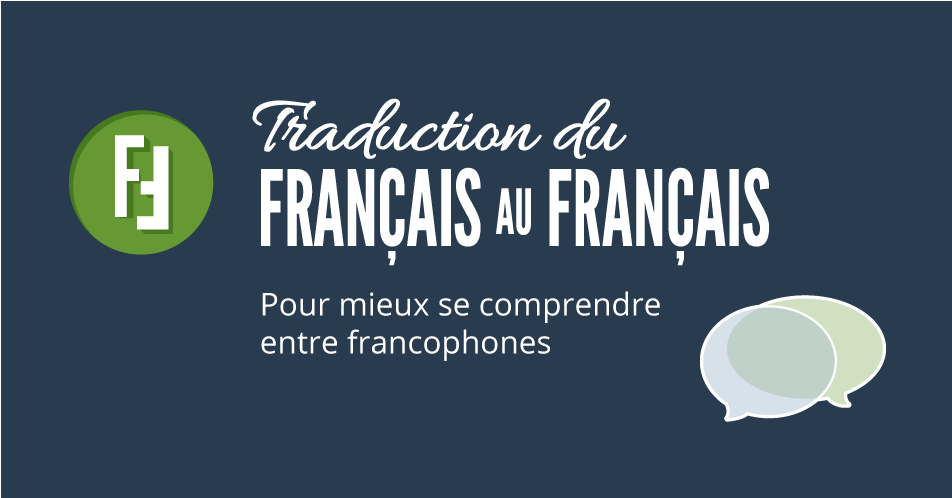 Traduction du fran ais au fran ais dictionnaire franco for Casser un miroir signification