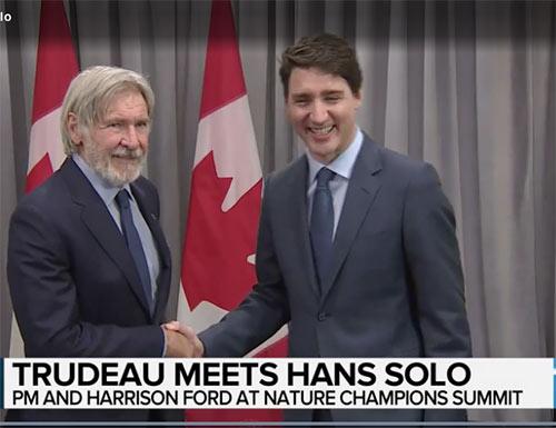Justin Trudeau est-il un kid Kodak ? L'expression québécoise kid Kodak sert à désigner une personne qui cherche à se faire photographier pour se mettre en valeur, qui a une propension à l'autopromotion.