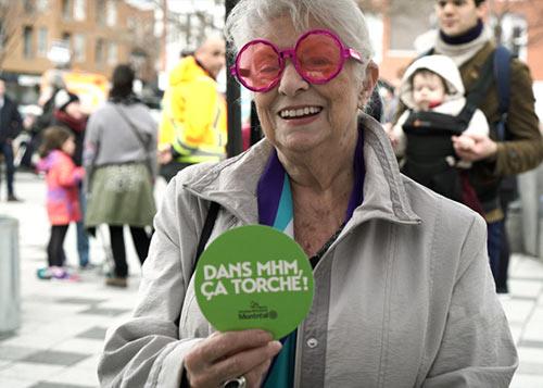 Slogan : Ça torche, lancement de campagne pour la propreté.