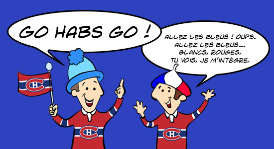 L'expression québécoise de hockey : Go Habs Go